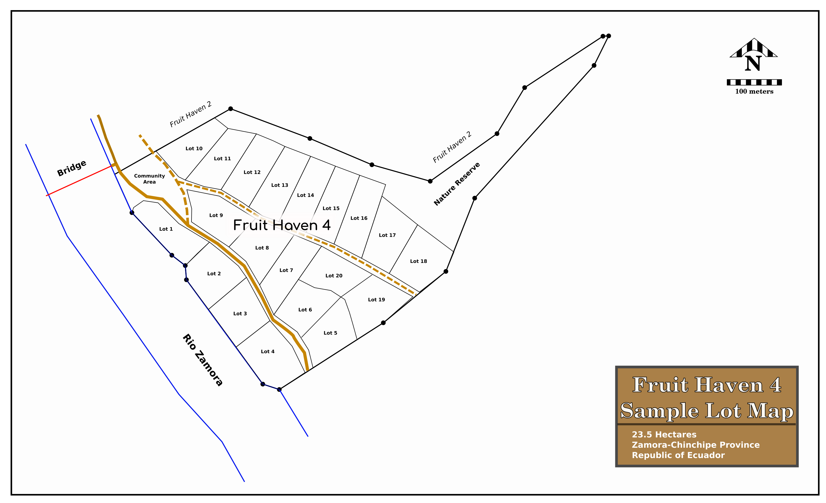 FH4 Sample Lot Map